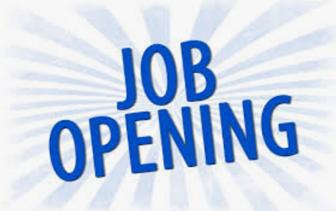 Job Opening: Assoc Minister