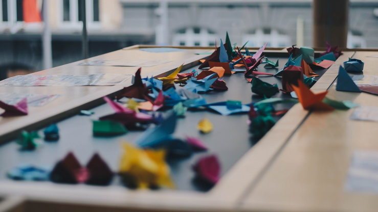 Origami Chain Craft Day – June 6